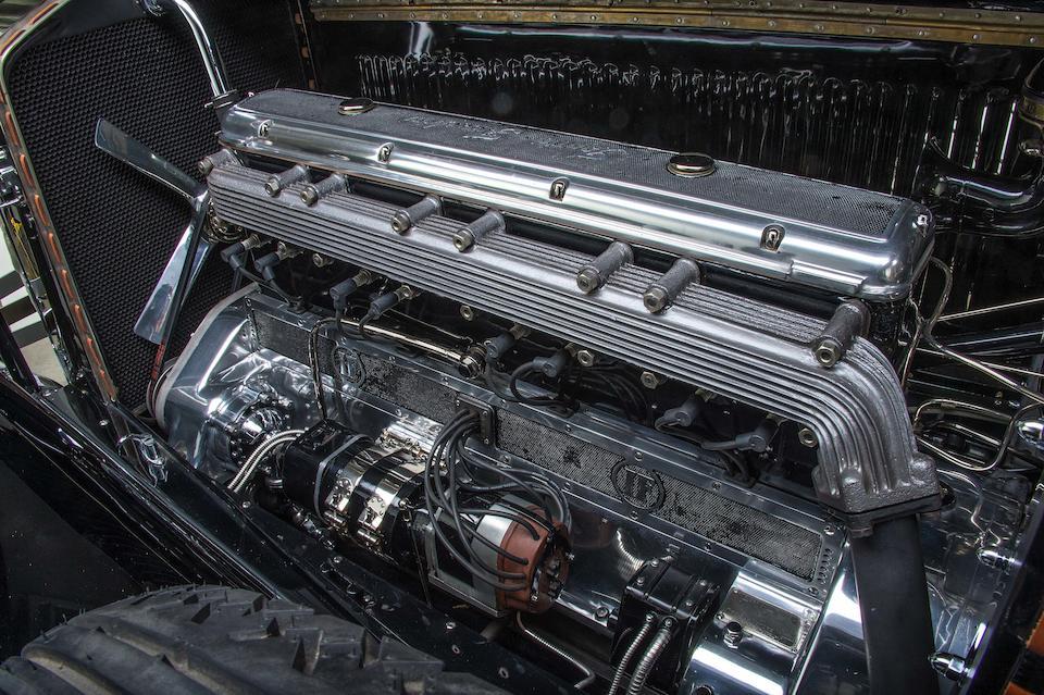 Considérée comme étant la voiture du Salon de Milan,Isotta Fraschini 8A SS Cabriolet 1930