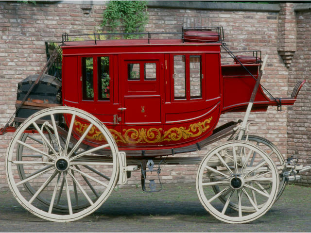 ex-Pemberton Carriage Collection, Canada,c.1878 Concord Coach