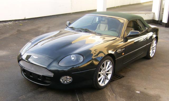 Bonhams Aston Martin Db7 V12 Vantage Volante Cabriolet 2001