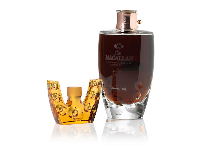 Macallan Lalique-55 year old
