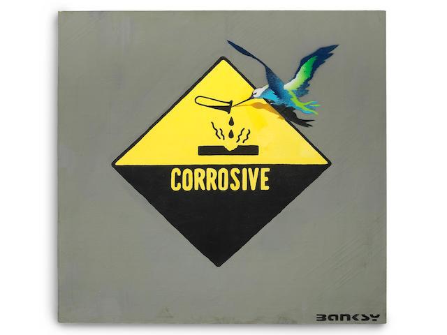 Banksy (British, born 1975) Corrosive Bird 2001