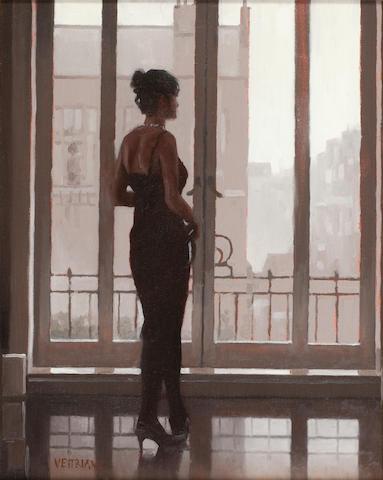 Jack Vettriano OBE Hon LLD (British, born 1951) Do You Still Dream 38 x 30 cm. (14 15/16 x 11 13/16 in.) Painted in 2003