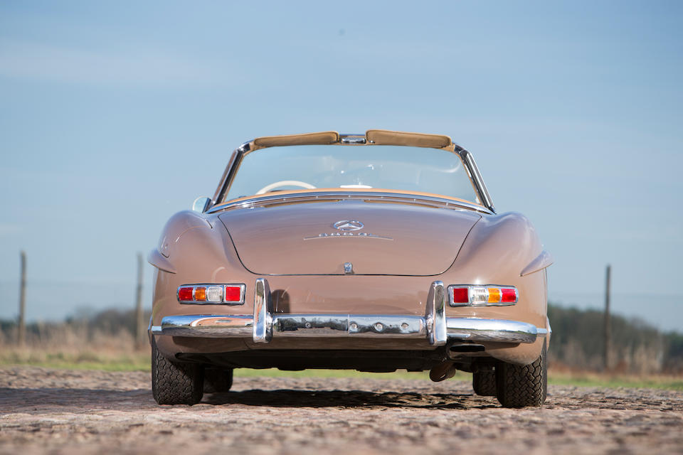 Formerly the property of Alfried Krupp, in current ownership since 1980  and an extremely original example,1960 Mercedes  300SL Roadster  Chassis no. 198.042-10-002539 Engine no. 198.980-10-002544