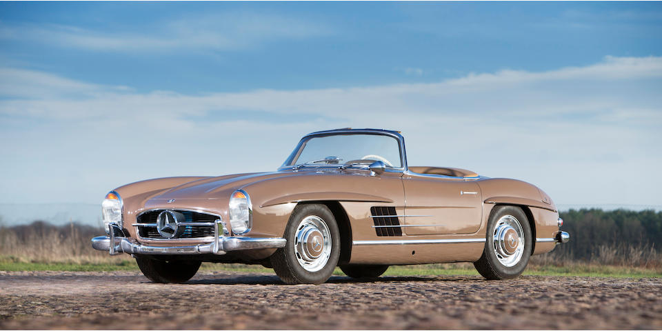 Formerly the property of Alfried Krupp,,1960 Mercedes 300SL Roadster Chassis no. 198.042-10-002539 Engine no. 198.980-10-002544