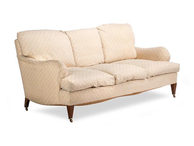A Whytock & Reid three seat sofa