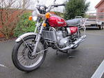 1975 Suzuki GT750 Frame no. GT750-65082 Engine no. GT750-71849