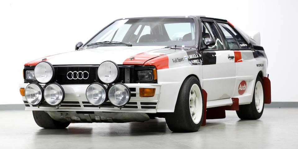 Ex-works, Hannu Mikkola/Arne Hertz,1982 Audi Quattro A1 Group B Rally Car  Chassis no. WAUZZZ85ZDA900012