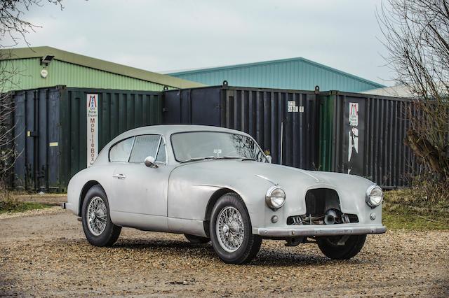 Left-hand drive,1954 Aston Martin DB2/4 Sports Saloon Project  Chassis no. LML/524 Engine no. VB6E/50/1259