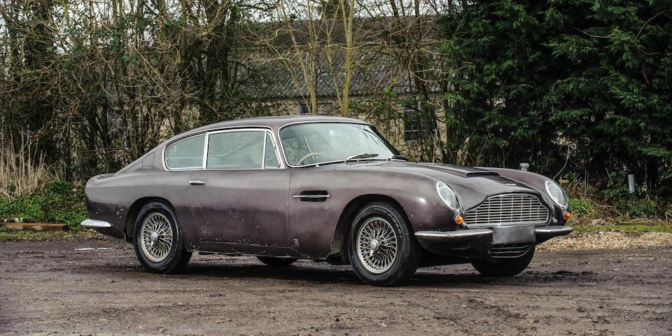 1966 Aston Martin DB6 Vantage Sports Saloon Project  Chassis no. DB6/2827/R Engine no. 400/2825/V