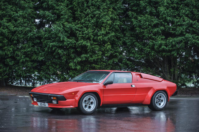 One of 35 right-hand drive cars,1983 Lamborghini Jalpa P350 Targa Coupé  Chassis no. 8A9J00000DLA12068 Engine no. L353DLA12068