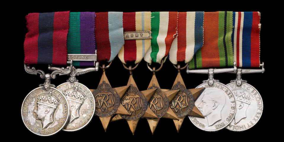 A Second World War Norway D.C.M. group of eight to Guardsman M.P.O'Shea, Irish Guards,