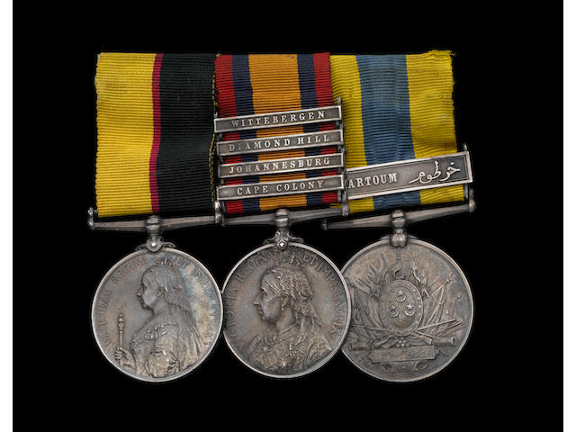Three to Private J.Hope, 17th Lancers, late 21st Lancers,