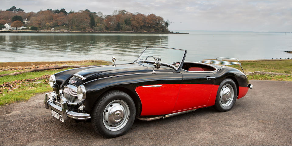 Extremely rare and continuous history from new,1961 Austin-Healey 3000 MkII Roadster  Chassis no. HBN7/16554 Engine no. AEC 1489 RS 19699
