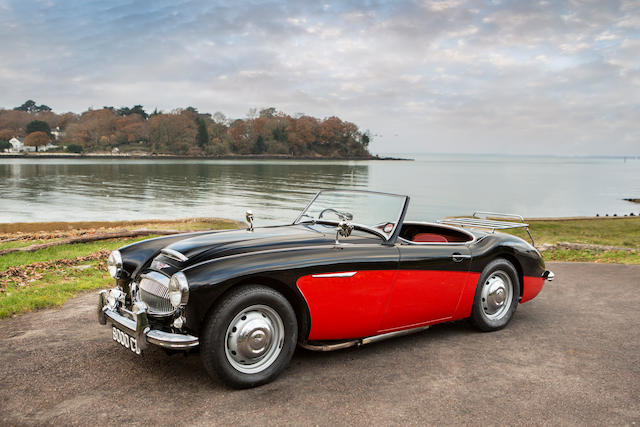 Extremely rare and continuous history from new,1961 Austin-Healey 3000 MkII BN7 Roadster  Chassis no. HBN7/16554 Engine no. AEC 1489 RS 19699