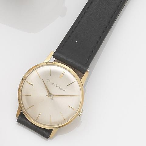 Girard Perregaux. An 18ct gold manual wind wristwatch Case No.77200436, Movement No.2529, Circa 1990