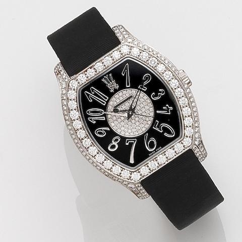 Chopard. A lady's 18ct white gold and diamond set quartz wristwatch The Prince's Foundation Ltd Edition, No.002/100, Ref:13/6999, Case No.965850, Circa 2010