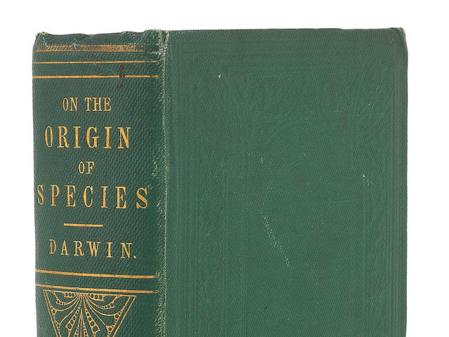 DARWIN (CHARLES) The Origin of Species by Means of Natural Selection, or the Preservation of Favoured Races in the Struggle for Life, FIRST EDITION, FIRST ISSUE, John Murray, 1859