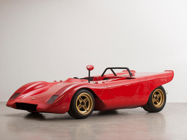 From the Maranello Rosso Collection,1970  Abarth 1000 SE-018 'Cuneo Biposto Corsa' Sports-Racing Prototype  Chassis no. SE018/015