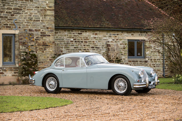 Three owners; matching numbers; 33,059 miles from new; 400 miles since full restoration,1958 Jaguar XK150SE 3.4-Litre Coupé  Chassis no. S824323 Engine no. V3353-8