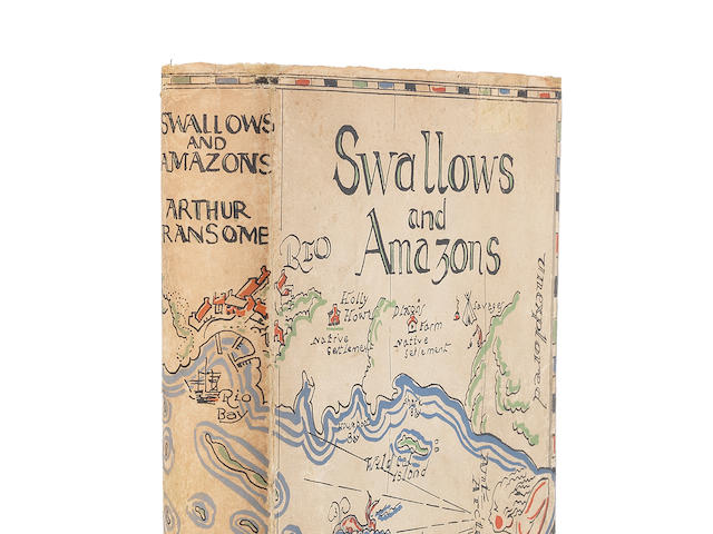 RANSOME (ARTHUR) Swallows & Amazons, FIRST EDITION, Jonathan Cape, 1930