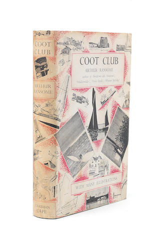 RANSOME (ARTHUR) Coot Club, FIRST EDITION, Jonathan Cape, [1934]