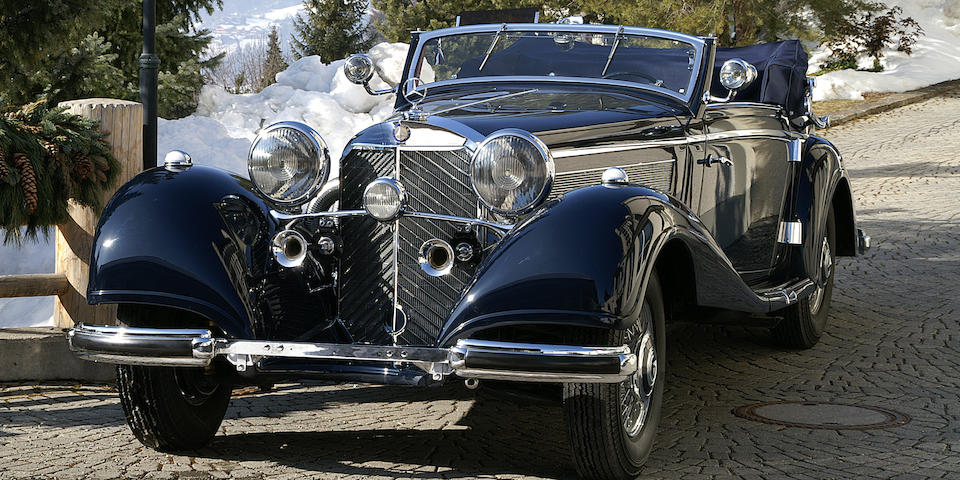1937/1938 Mercedes-Benz 540K Cabriolet A Chassis no. 154076 Engine no. 154076