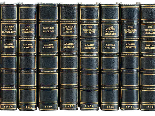 CHRISTIE (AGATHA) [Novels and Short Stories], 42 vol., FIRST EDITIONS, Bodley Head, Collins, for the Crime Club, Harper Collins, 1922-1997 (42)