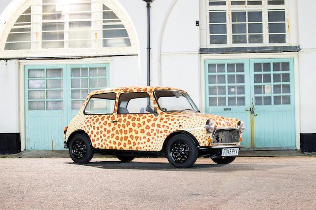 Formerly the property of Mohammed Al-Fayed,1989 Mini Rose 'Leopard' Saloon  Chassis no. SAXXL2S1020412804 Engine no. 99HD800109228