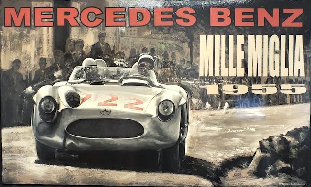 TONY UPSON, 'MERCEDES-BENZ MILLE MIGLIA 1955'