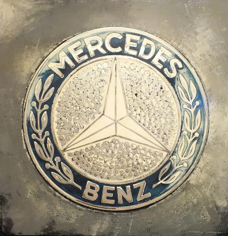 TONY UPSON, 'MERCEDES-BENZ PLAKETTE'