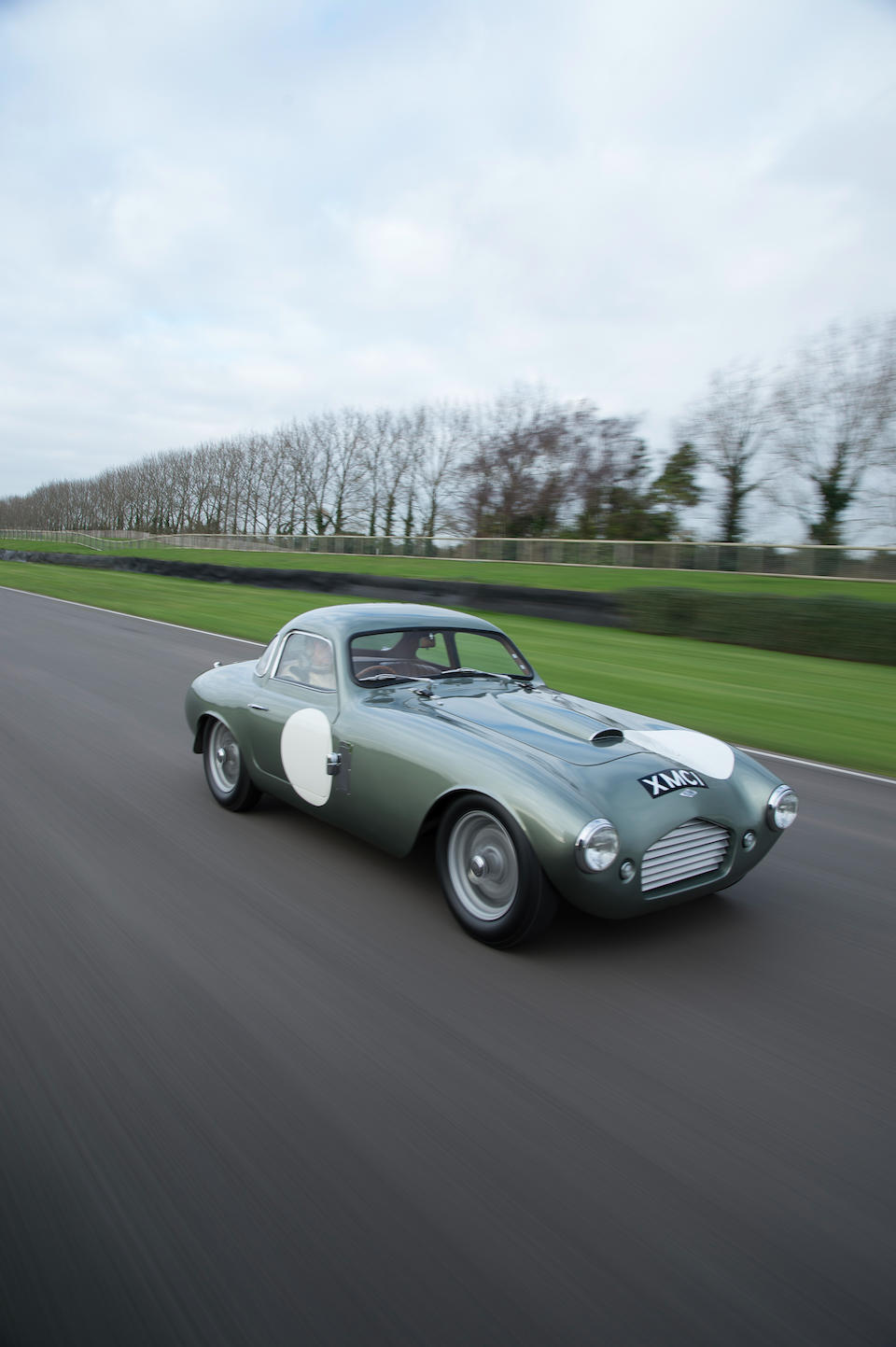 The ex-Mrs Kitty Maurice; 1959 Le Mans (Dashwood/Wilks),1955 Frazer Nash Le Mans Coupé  Chassis no. 421/200/203 Engine no. BS4/1/415