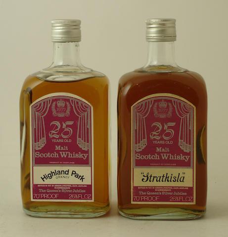 Highland Park-25 year old Strathisla-25 year old