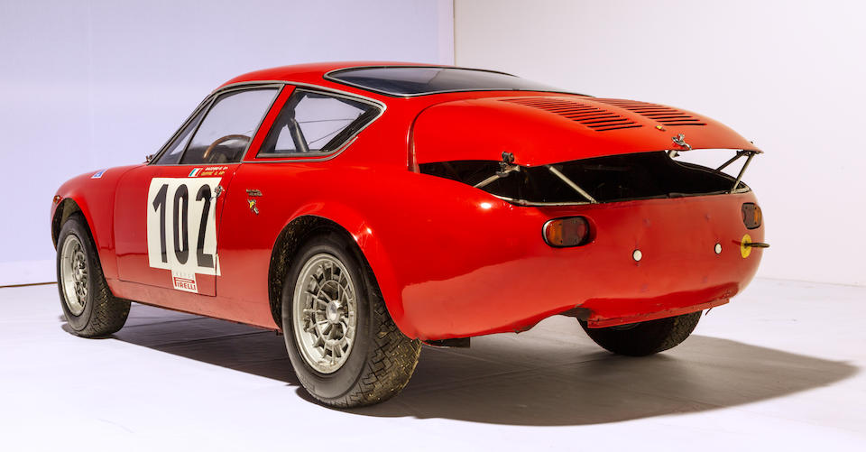 From the Maranello Rosso Collection,1965 Abarth Simca 1300 GT Corsa 'Long-Nose World Champion' Coupe  Chassis no. 130S/00047 Engine no. 238040001