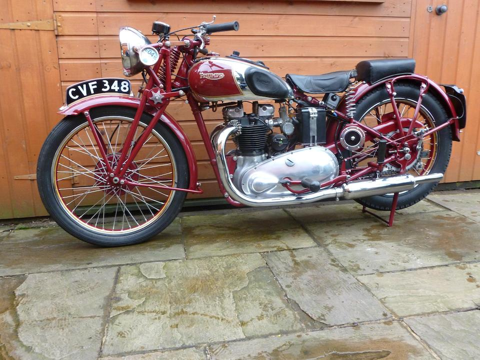 1938 Triumph 498cc Speed Twin Frame no. TH 6903 Engine no. 8-5T-13769