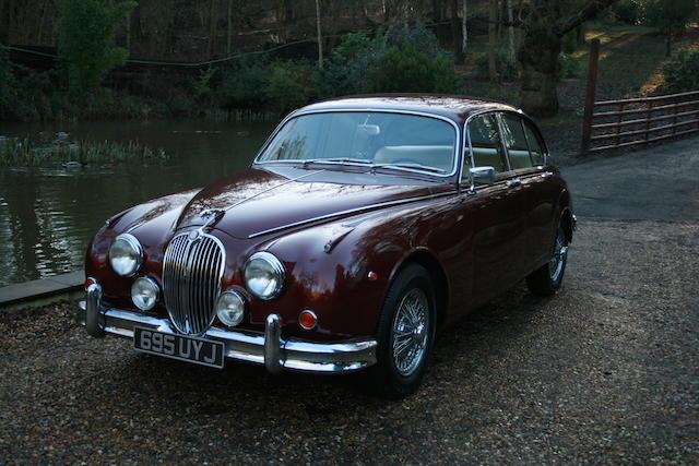 Left-hand drive,1961 Jaguar Mark 2 3.8-Litre Saloon  Chassis no. 221667 Engine no. LC4014/8