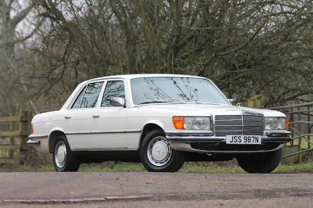 13,007 kilometres from new,1975 Mercedes-Benz 280 S Saloon  Chassis no. 116020 12 042977 Engine no. 110922 12 024173