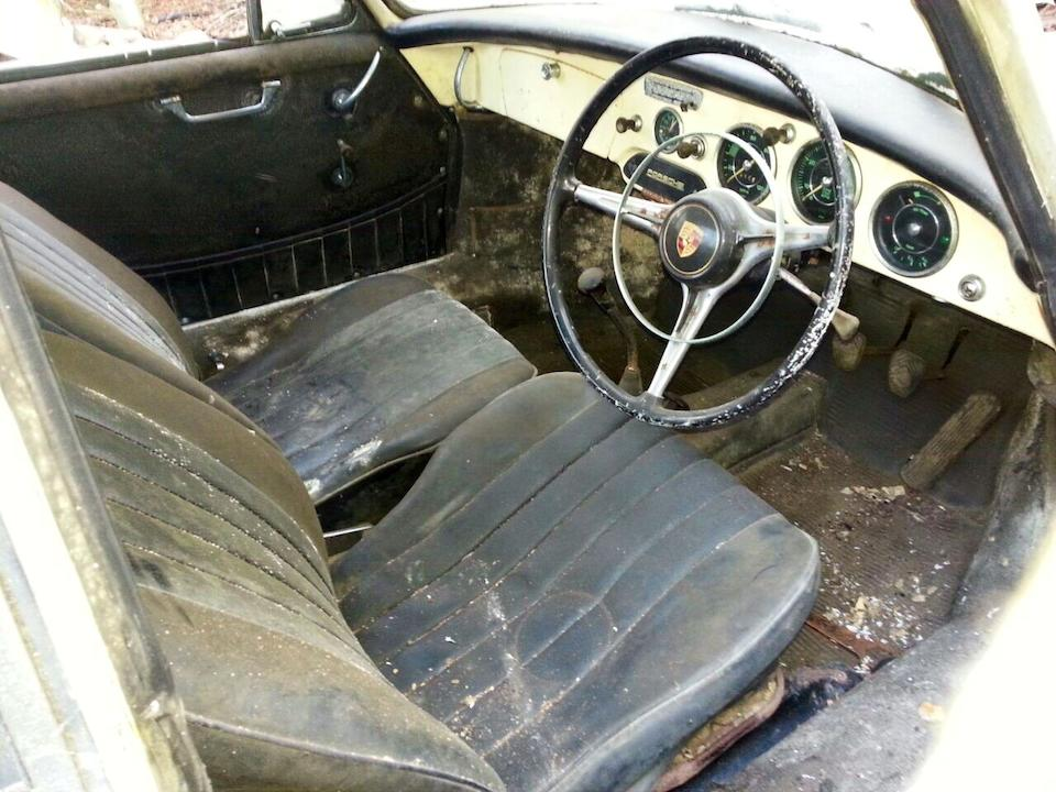 Property of a deceased's estate,1963 Porsche 356B Super 90 Coupé Project  Chassis no. 124333 Engine no. PO 800647