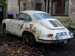 Property of a deceased's estate,1963 Porsche 356B Super 90 Coupé Project  Chassis no. 124333 Engine no. PO 800647