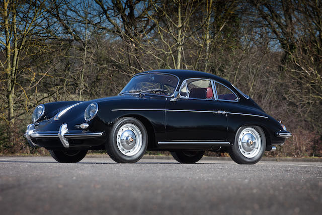 Matching numbers, 73,000 miles from new,1963 Porsche 356B Coupé  Chassis no. 214233 Engine no. 0700953/616/12
