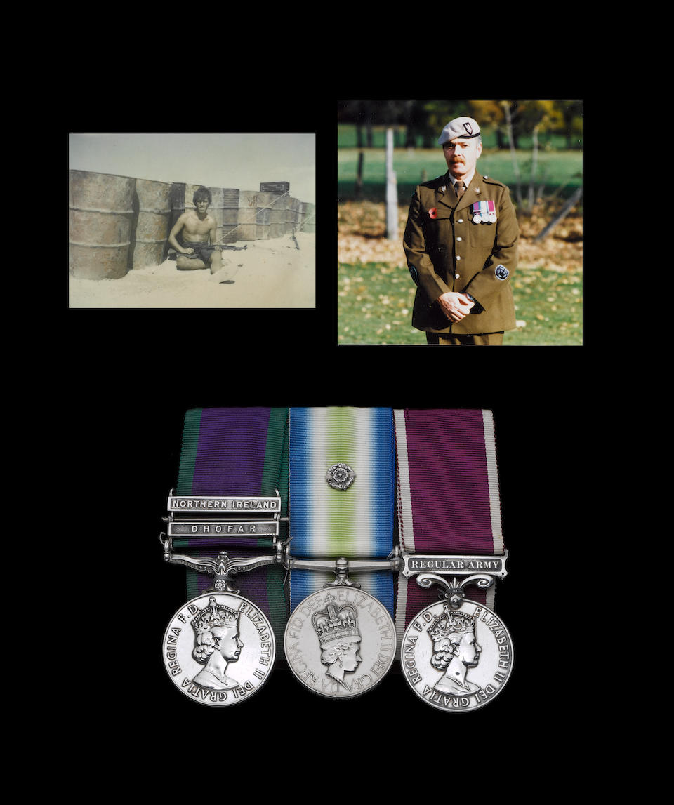 Three to Warrant Officer D.Fleming, Special Air Service Regiment,