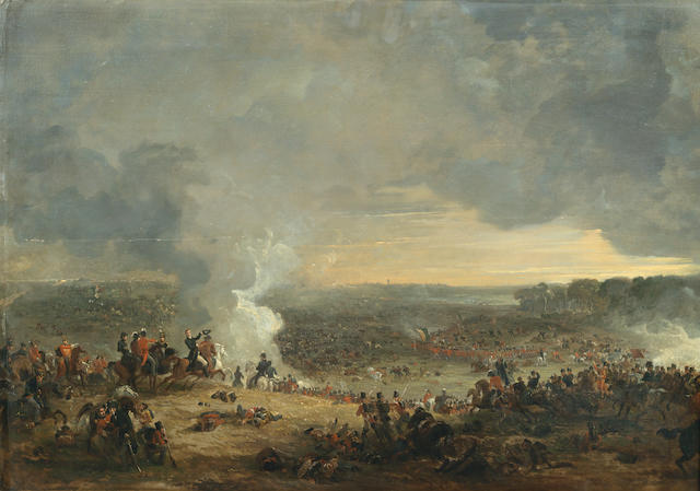 George Jones, RA (British, 1786-1869) The Final Defeat of the French at Waterloo