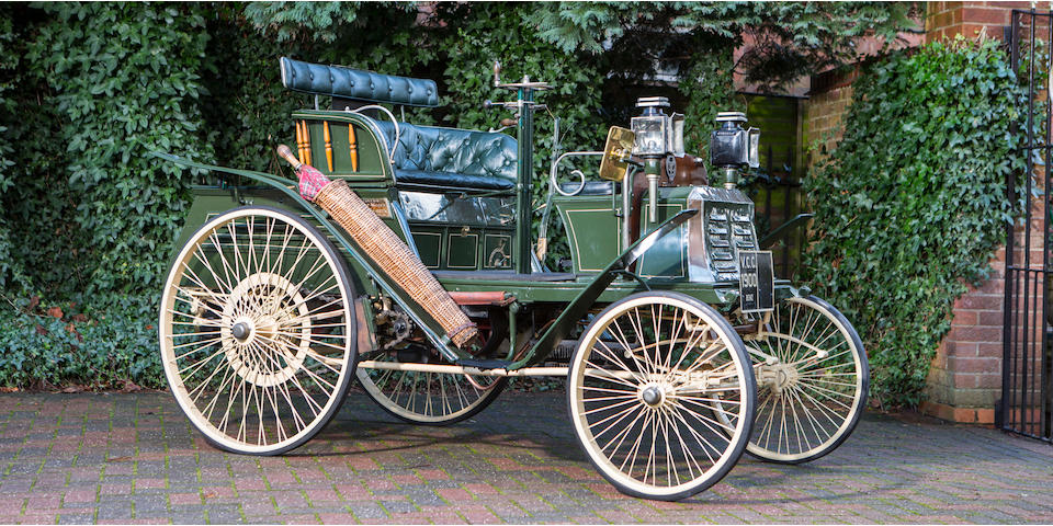 1900 Benz Ideal 4 1/2 hp Chassis no. 2727 Engine no. 2604