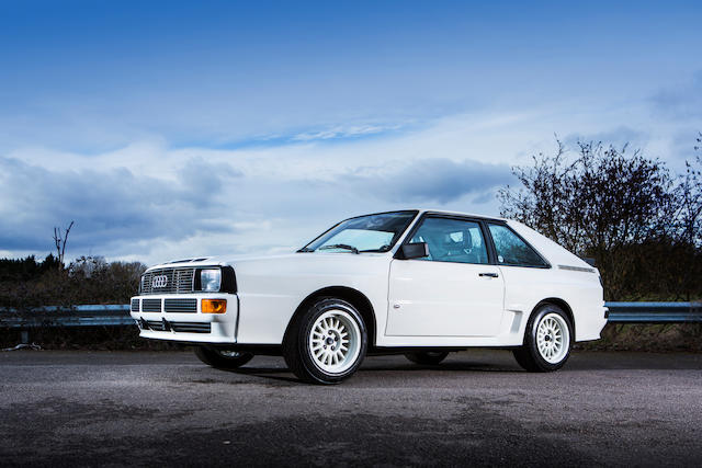 Circa 24,285 miles from new,1985 Audi Quattro Sport SWB Coupé  Chassis no. WAUZZZ85ZEA905206 Engine no. KW000031