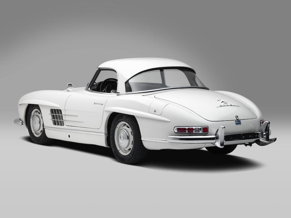 Original disc-brake example; European delivery; single family ownership for 48 years,1961 Mercedes-Benz 300 SL Roadster  Chassis no. 198.042-10-002973 Engine no. 198.980-10-003034