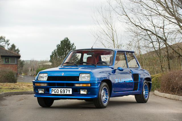 1983 Renault 5 Turbo Hatchback  Chassis no. 130000636