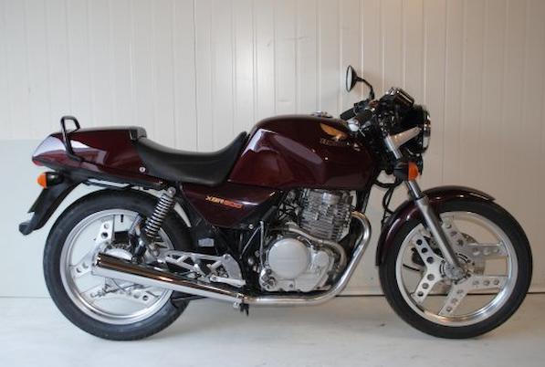 1988 Honda XBR500 Frame no. PC15-5101581 Engine no. PC15E-5101571