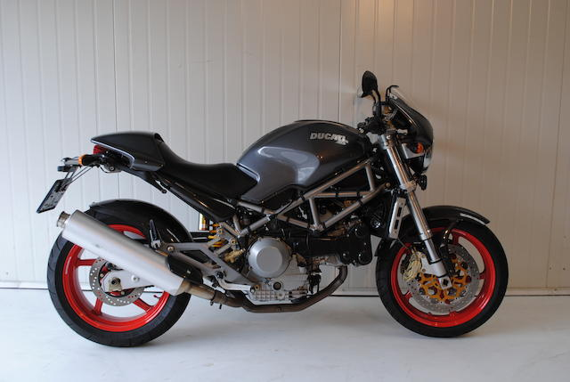 2003 Ducati 916cc Monster S4 Frame no. ZDMM400AA2B016830 Engine no. ZDM916W4DX009957