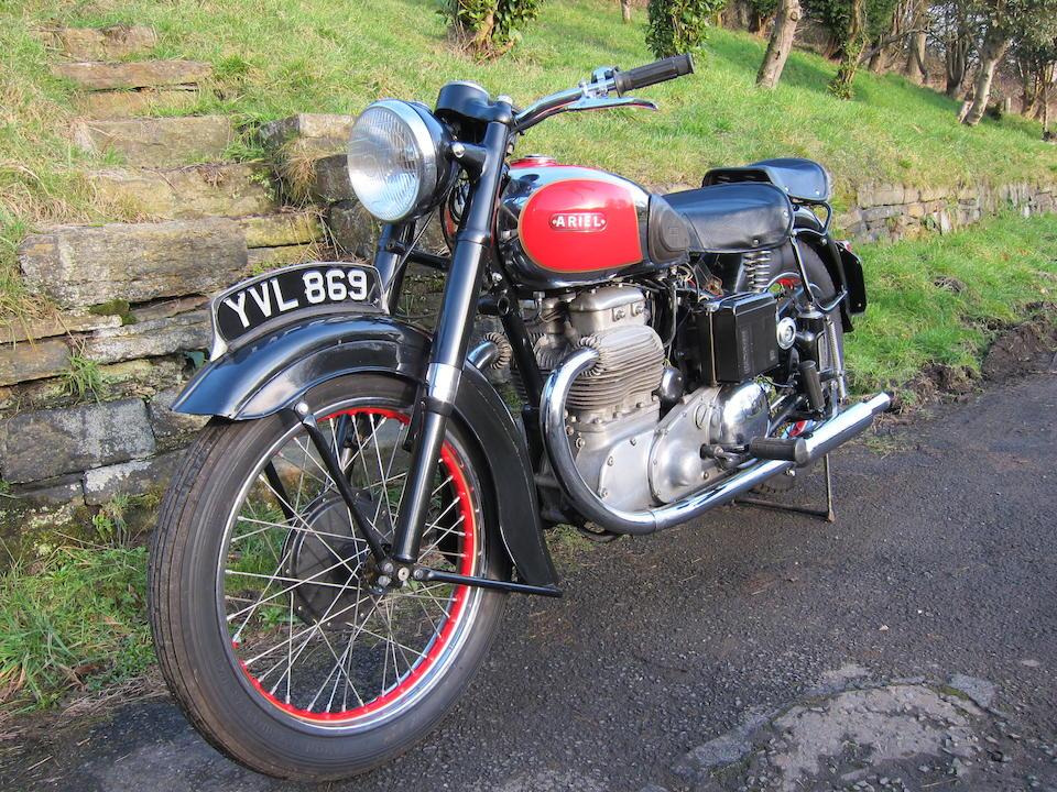 1951 Ariel 995cc 'Square Four' 4G Mark I Frame no. SC490 Engine no. TM650 (see text)
