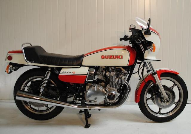 1979 Suzuki GS1000S Frame no. GS1000-523497 Engine no. GS1000-134421