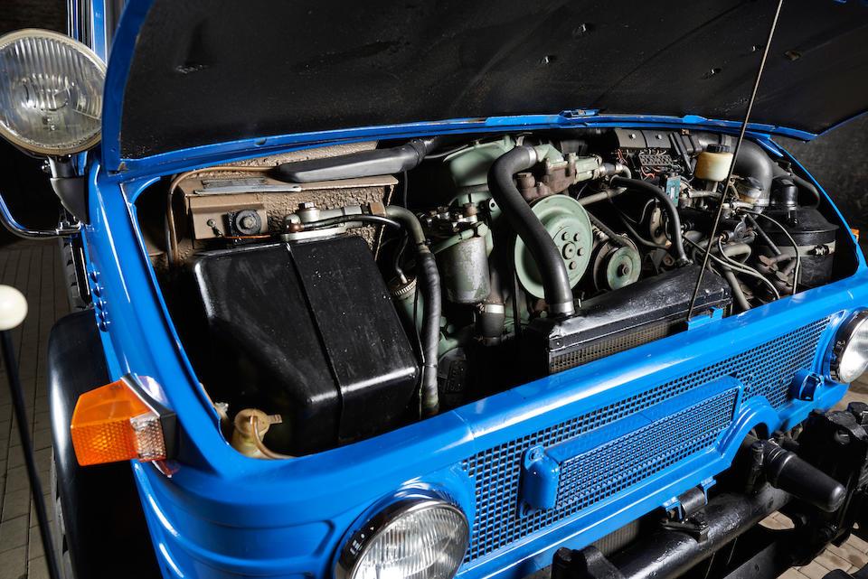 1975 Mercedes-Benz   Unimog 406 Doppelkabine 4x4  Chassis no. 406.145-10-026284